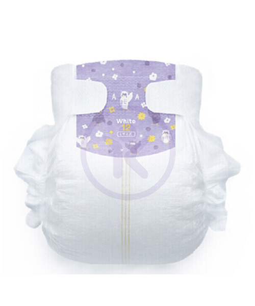Japanese Diapers Whito, L, 9-14 kg, 12h (night time), 40 pcs.